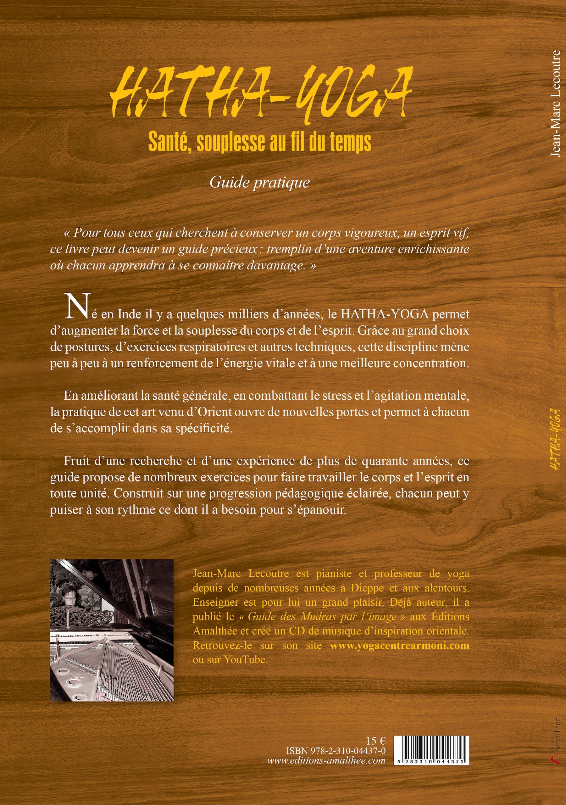 Quatrième de couverture livre le secret des mudras par Jean-Marc Lecoutre